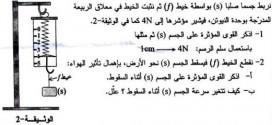 تصحيح شهادة التعليم المتوسط 2013 – اختبار العلوم الفيزيائية