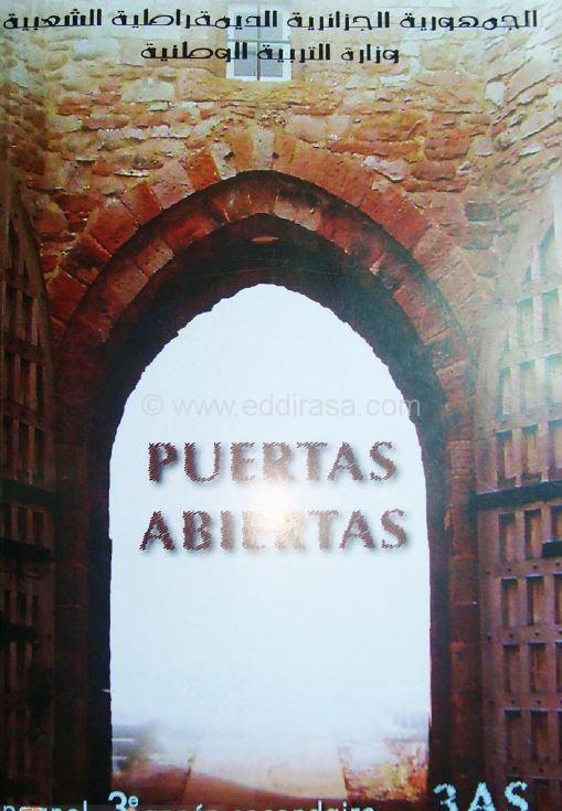 الكتب المدرسية سنة 3 ثانوي لجميع الشعب BOOK-Spanish-3AS-PDF