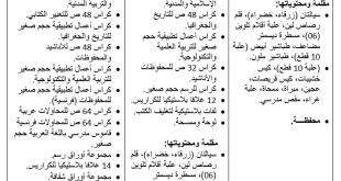 قائمة الأدوات المدرسية الرسمية لتلاميذ الإبتدائي